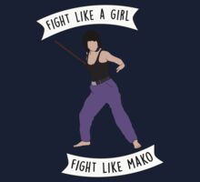 Fight like Mako One Piece - Short Sleeve