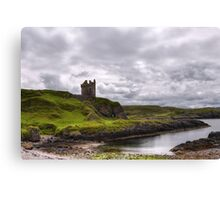 Gylen Castle Canvas Print