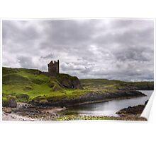 Gylen Castle Poster