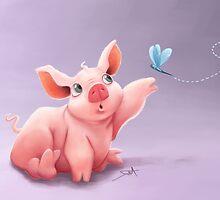 Lil Pig by Danielle Pioli