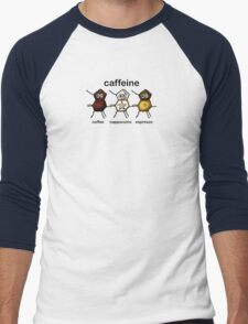 Caffeine Men's Baseball ¾ T-Shirt