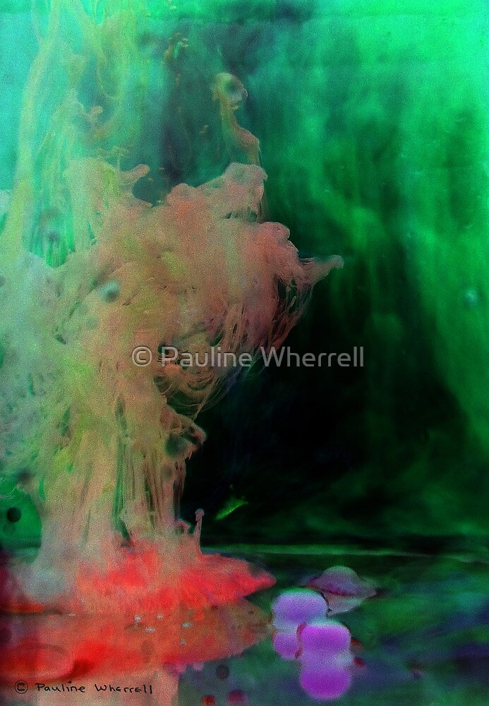 Mystical figure by © Pauline Wherrell