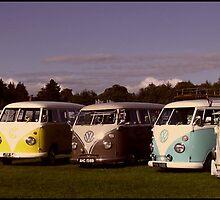 Camper Lined - A line of VW Campervans by angelimagine