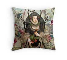 Spiderwoman Throw Pillow