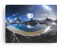 The Earth Pool Canvas Print