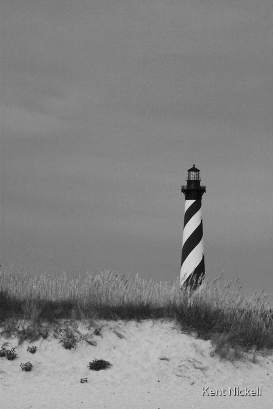 Hatteras Lighthouse by Kent Nickell