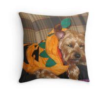 Biscuits Halloween Costume Throw Pillow