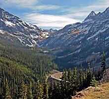 Washington Pass, North Cascades, Washington State by Rhonda R Clements