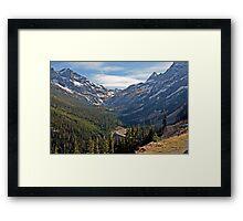 Washington Pass, North Cascades, Washington State Framed Print