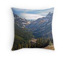 Washington Pass, North Cascades, Washington State Throw Pillow