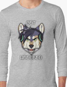 GET WRECKED - Wolf Long Sleeve T-Shirt