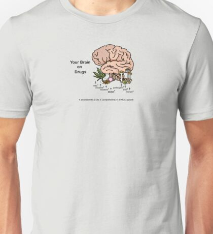 Your Brain on Drugs Unisex T-Shirt