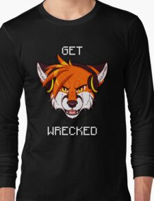 GET WRECKED - Fox Long Sleeve T-Shirt