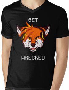 GET WRECKED - Fox Mens V-Neck T-Shirt