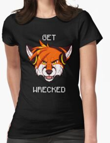 GET WRECKED - Fox Womens Fitted T-Shirt