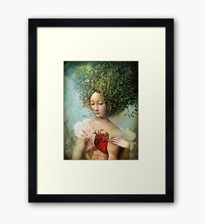 The Day I lost my Heart Framed Print