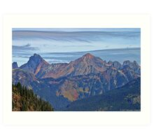 North Cascades Art Print