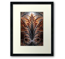 Fractal Flame Framed Print