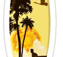 Ghetto Culture Surf T-Shirt Sticker