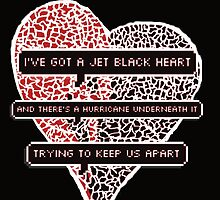 Jet Black Heart by Elly Moran