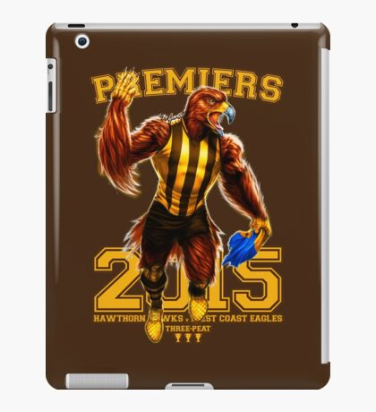 'The Mighty Premiers From Hawthorn' 2015 Print By Grange Wallis iPad Case/Skin
