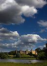 Framlingham Castle Suffolk. by Darren Burroughs