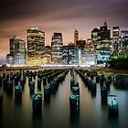 Manhattan Skyline by Wanagi Zable-Andrews