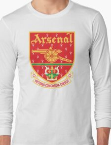 Arsenal FC Retro Long Sleeve T-Shirt