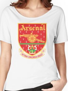 Arsenal FC Retro Women's Relaxed Fit T-Shirt