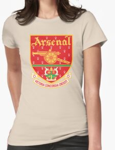 Arsenal FC Retro Womens Fitted T-Shirt