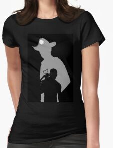 Rick and Daryl Womens Fitted T-Shirt