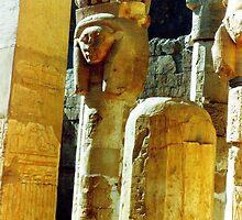 Abu Simbel Temple, Egypt by Alberto  DeJesus