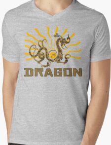 Chinese Zodiac Dragon Mens V-Neck T-Shirt
