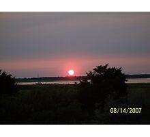 Wildwood sunset Photographic Print