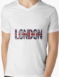 London Mens V-Neck T-Shirt