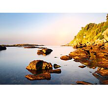 amazing morning on the wild coast Photographic Print