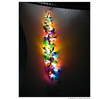 Lights Sculpture at McManus Gallery Museum Photographic Print