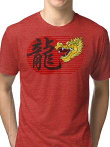 Chinese New Year Dragon Tri-blend T-Shirt