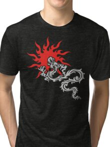 Chinese Dragon Tri-blend T-Shirt