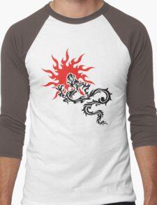 Chinese Dragon Men's Baseball ¾ T-Shirt