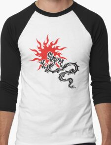 Chinese Dragon Men's Baseball ¾ T-Shirt