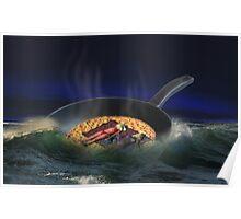 Frying Pan Poster