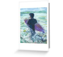 Happy Hour (pastel) Greeting Card