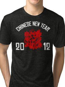 Chinese New Year 2012 Tri-blend T-Shirt