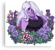Flower Language - Amethyst Canvas Print