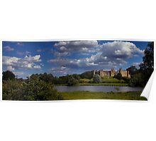 Framlingham Castle Suffolk Poster