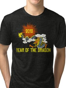 Year of The Dragon 2012 Tri-blend T-Shirt