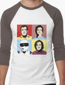 The Top Gear Team - POP Art Men's Baseball ¾ T-Shirt