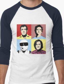 The Top Gear Team - POP Art Men's Baseball ¾ T-Shirt