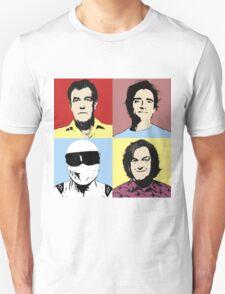 The Top Gear Team - POP Art Unisex T-Shirt
